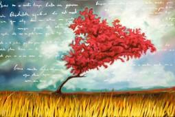 Árbol Magenta y Vida