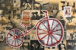 Bicicleta con libros