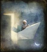 El niño que pescó la luna