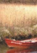 Barcaza y trigo