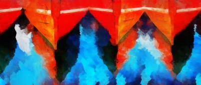 Barcos rojos