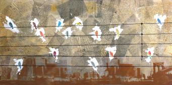 Pájaros en el alambre